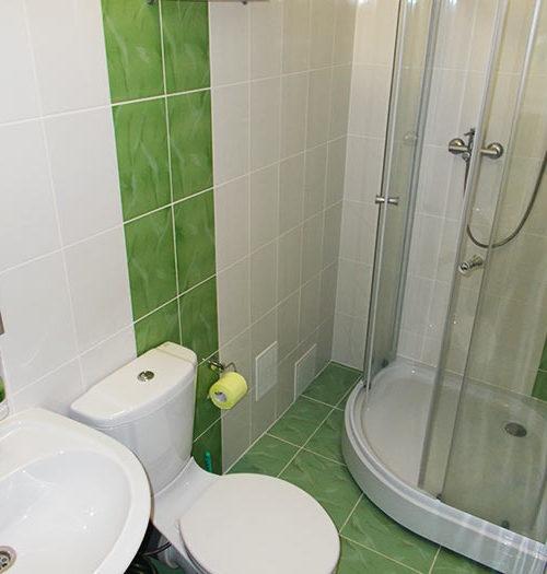 Двухместный номер с собственной ванной комнатой
